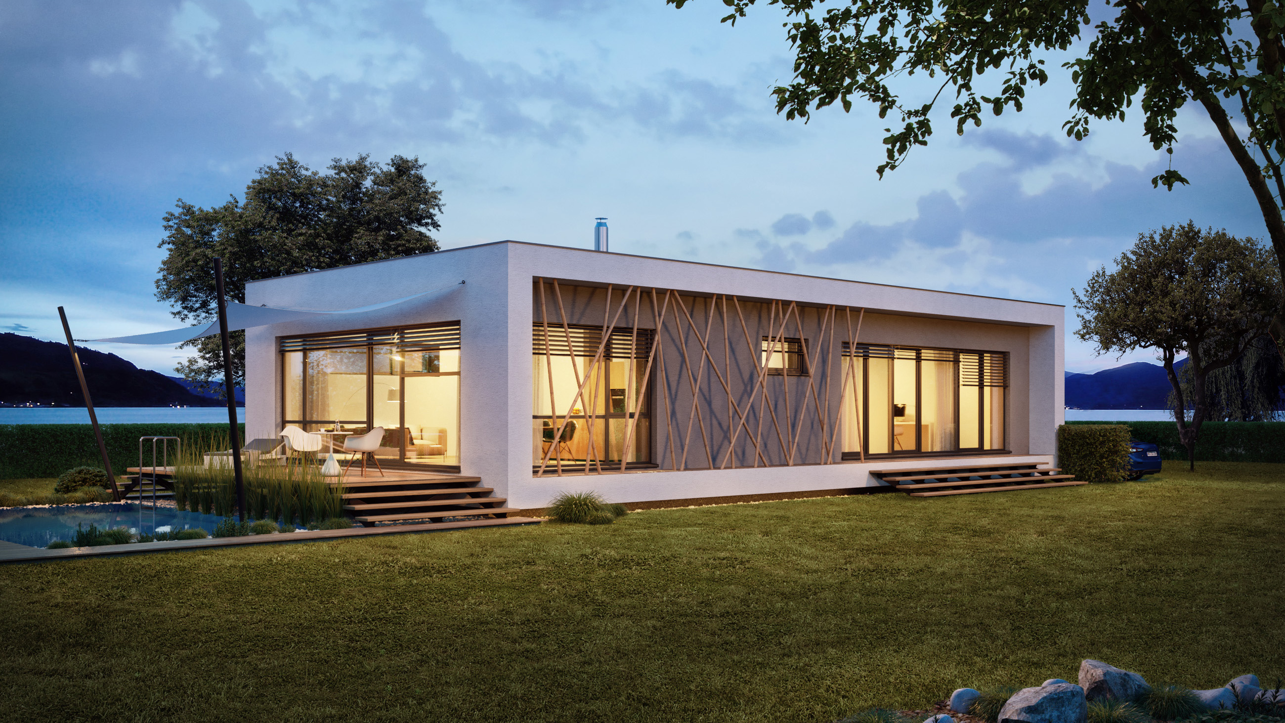 Projekty moderných domov